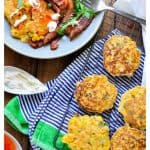 Healthy 5 ingredient corn fritters | low carb, low calorie and sugar free
