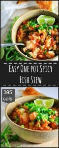 One Pot Spicy Fish Stew long pin