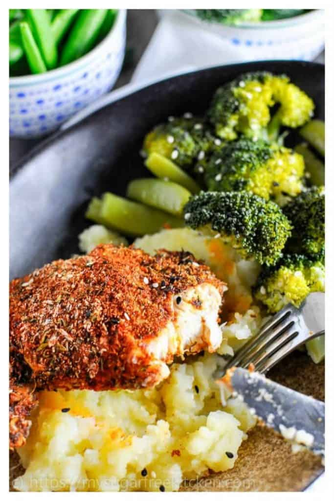 Healthy and full of flavour paprika chicken | easy weeknight meal | clean eating