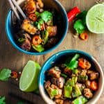 Lightened up and healthy | Hour and Sour Pork Recipe | Serve with Creamy Coconut Rice | Refined Sugar Free | Under 400 Calories