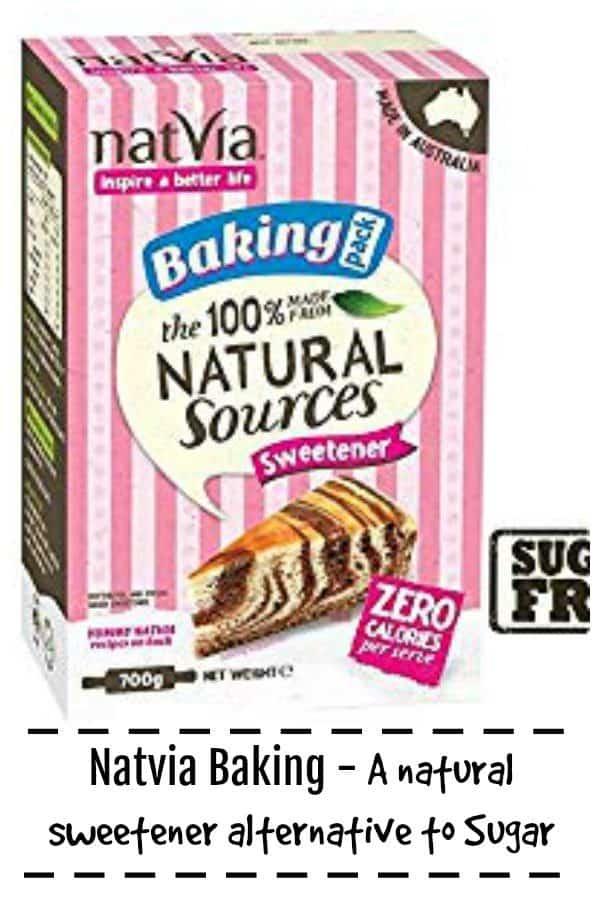 Natvia Stevia Sweetener - an alternative to sugar
