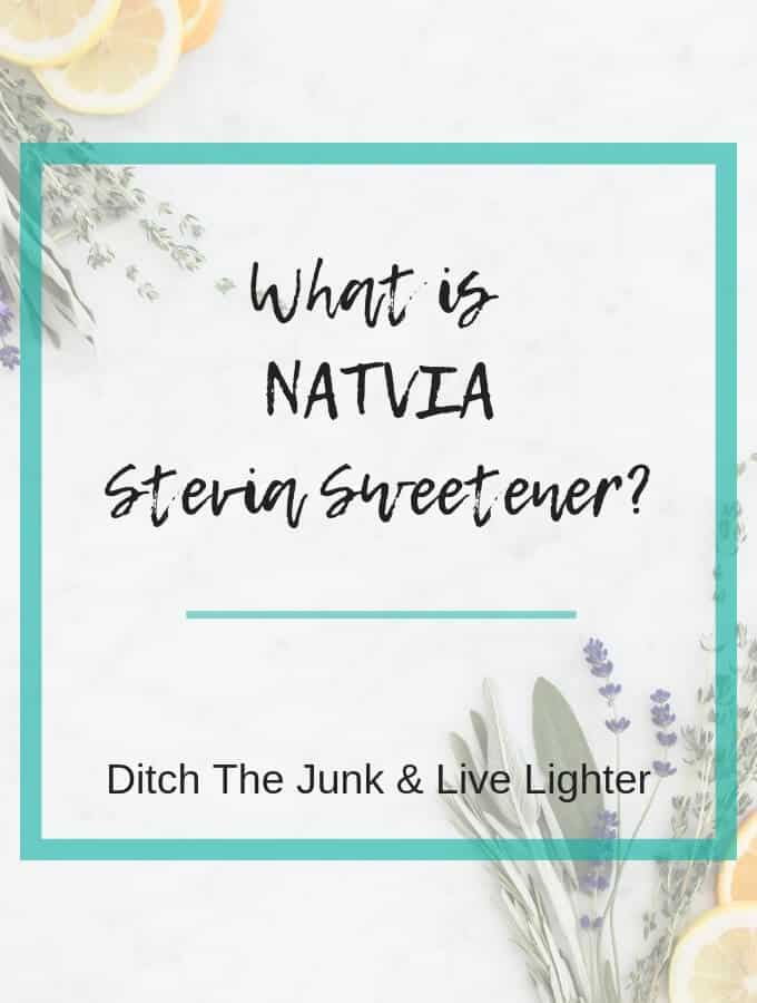 what is natvia stevia sweetener