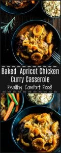 Rich, spicy and easy to make Apricot Chicken Curry Casserole