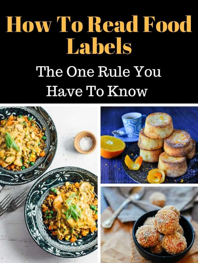 How To Read Food labels for Sugar- The One Thing You Need To Know