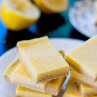 These sugar free lemon bars are the perfect blend of sweet and sour.