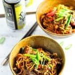 Beef Satay Curry Noodles