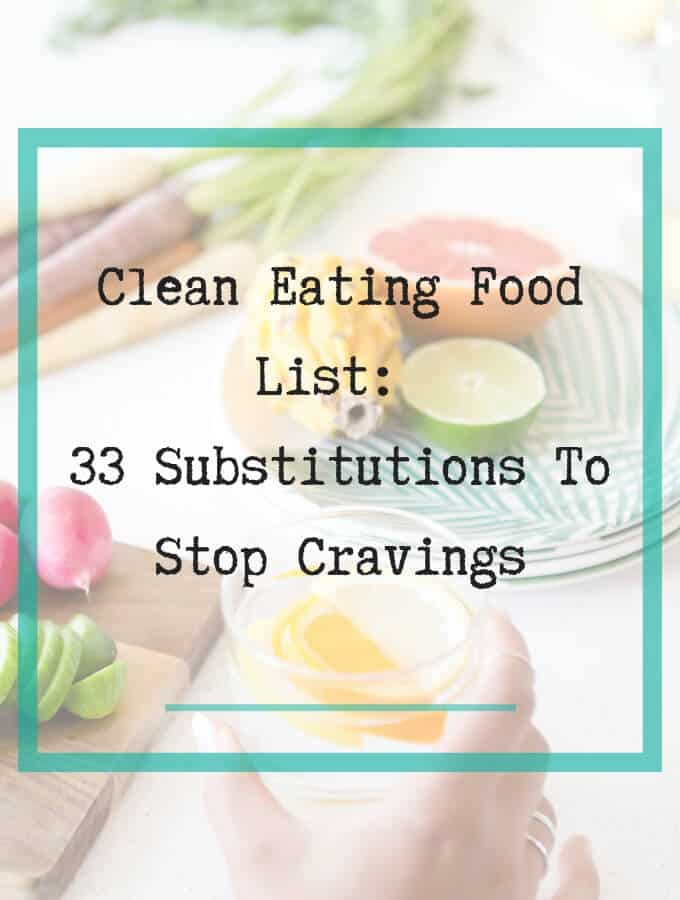 clean eating food list