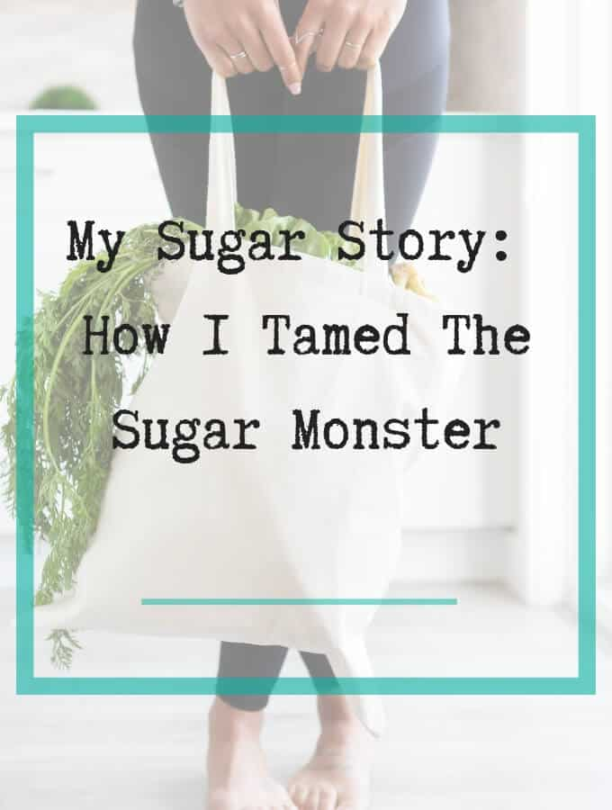 how i tamed the sugar monstor