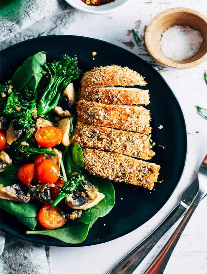 Healthy Salt and Chilli Chicken