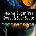 Sugar free sweet and sour sauce long pin