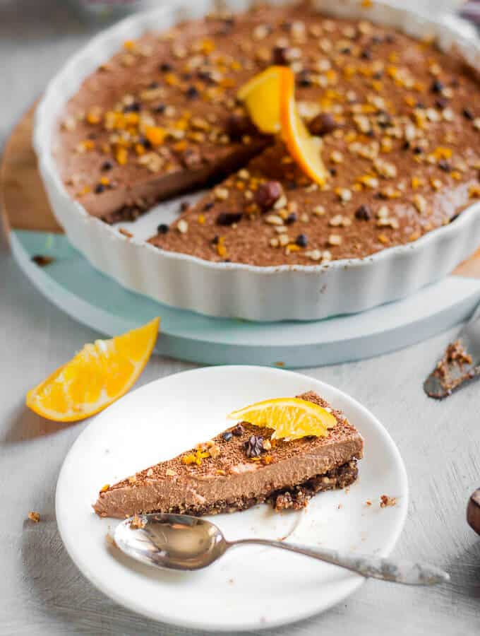 Sugar Free Jaffa Cheesecake