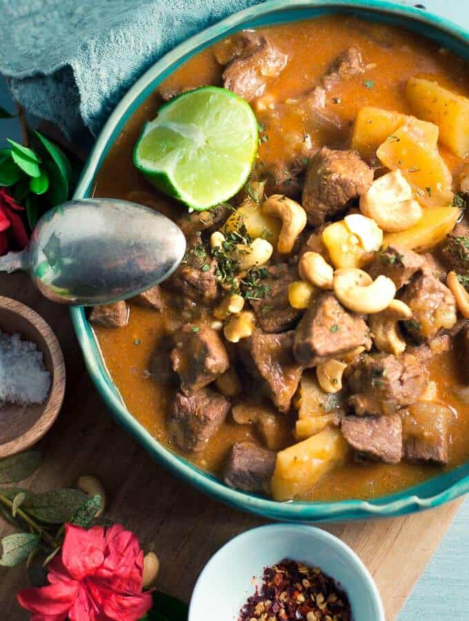 Pressure Cooker Massaman Curry