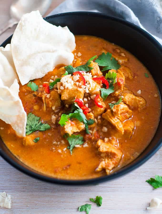 Pressure Cooker Chicken Korma Curry