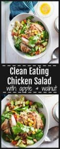 Clean Eating Chicken Salad Pinterest