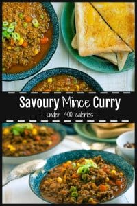 SAvoury mince curry Pinterest