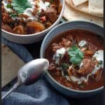 Slow Cooker Rogan Josh Beef pinterest
