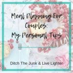 Easy Meal Planning For Couples