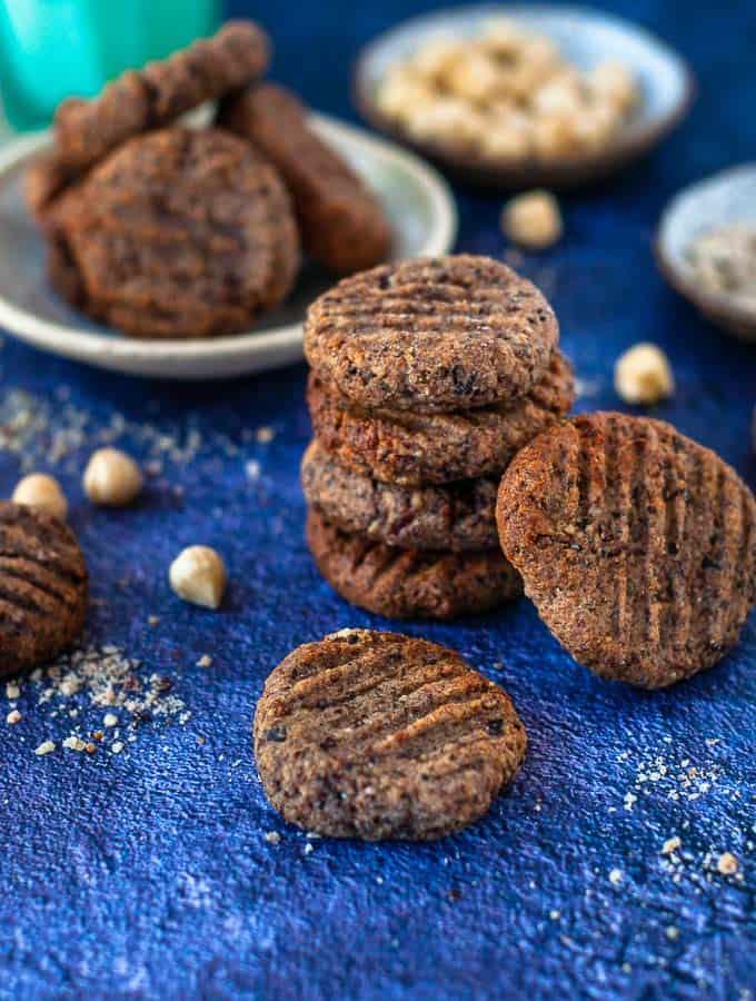 Hazelnut Meal Cookies