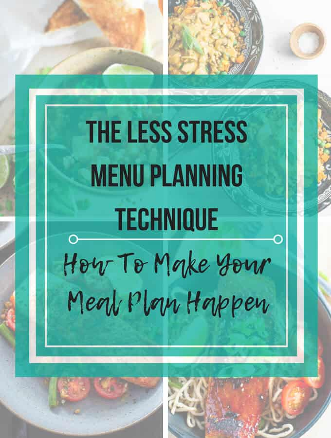 How To Make Your Meal Plan Happen
