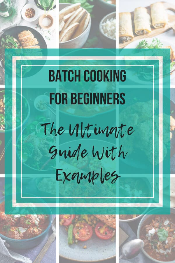 Meal Planning Batch Cooking For Beginners