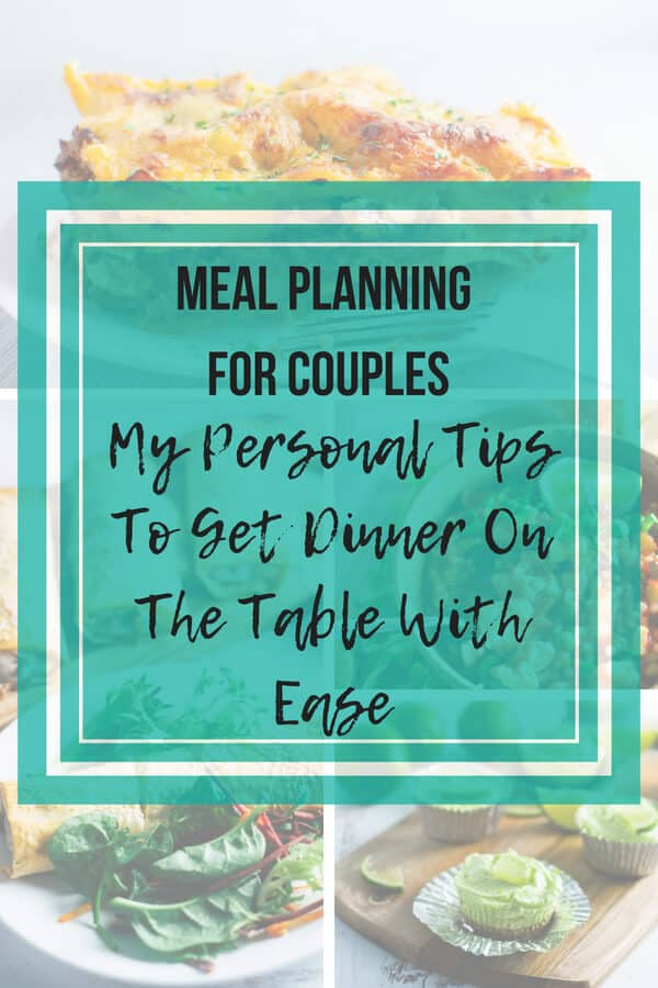 Meal Planning for couples featured