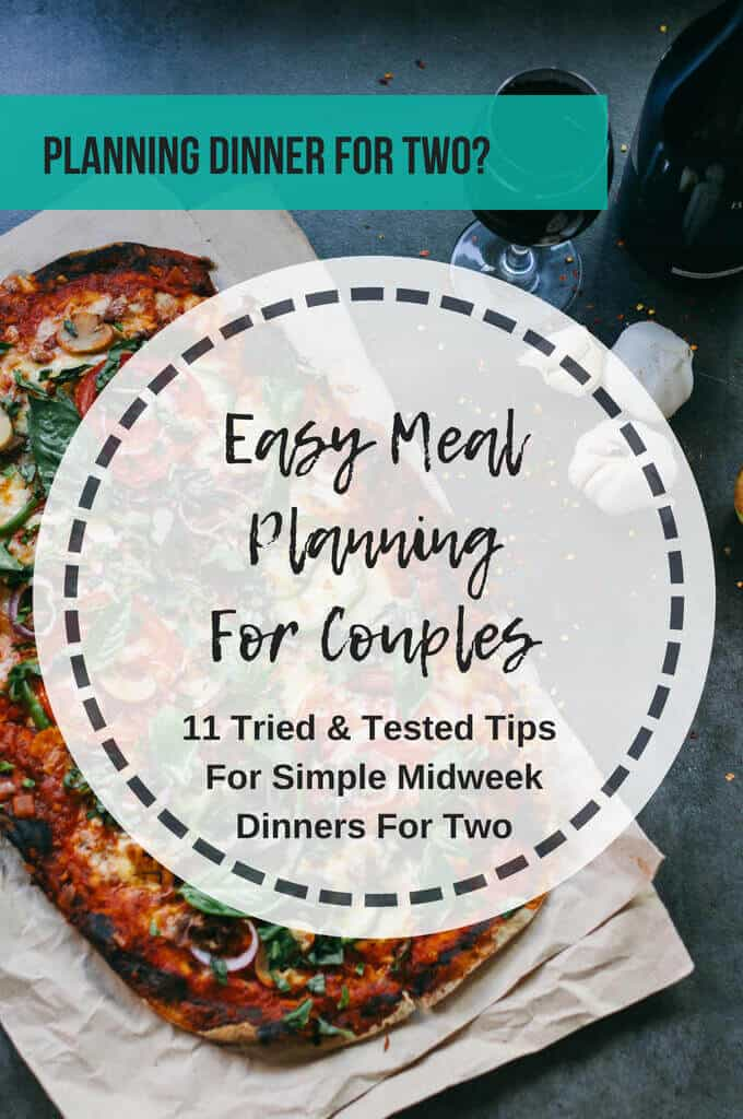 11 tips on meal planning for couples