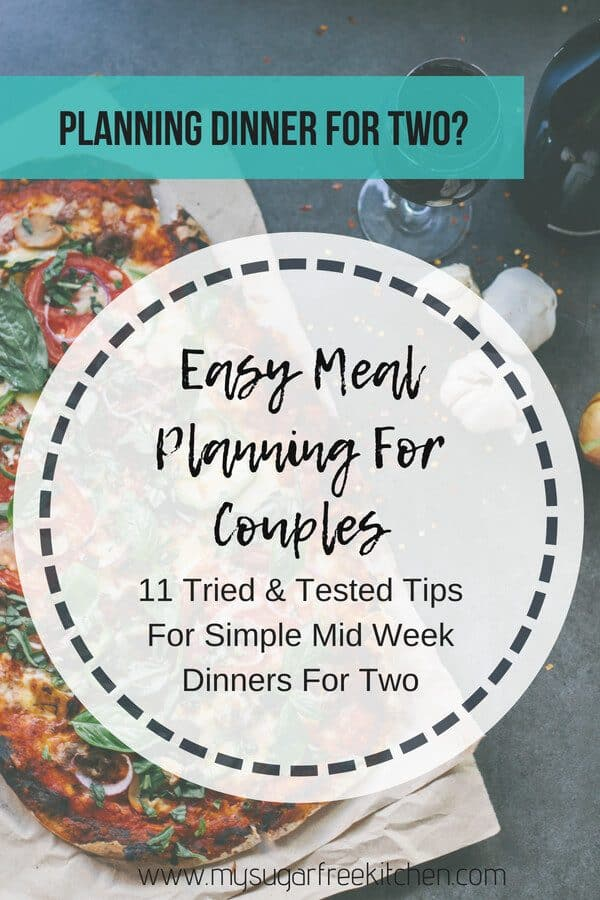 Meal planning for two tips and tricks