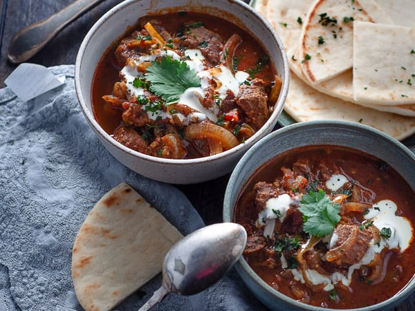 Slow Cooker Rogan Josh Beef