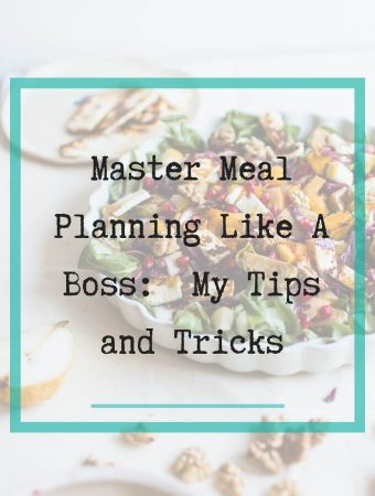 master meal planning like a boss