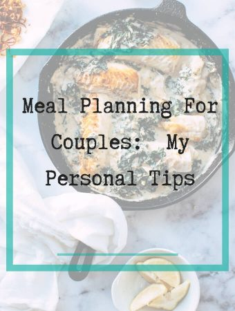 meal planning for couples