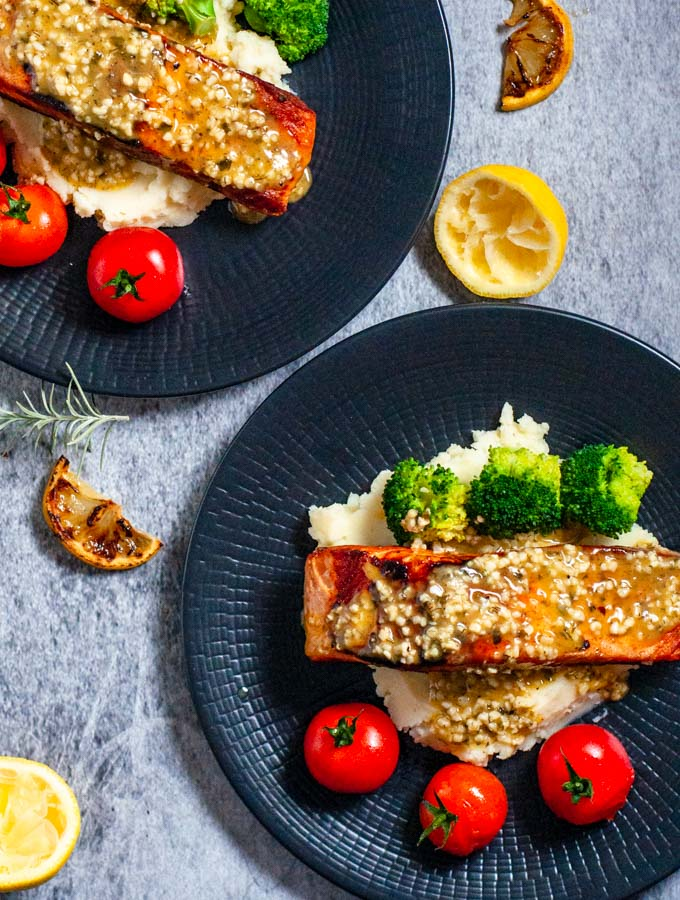 Lemon Garlic Butter Salmon