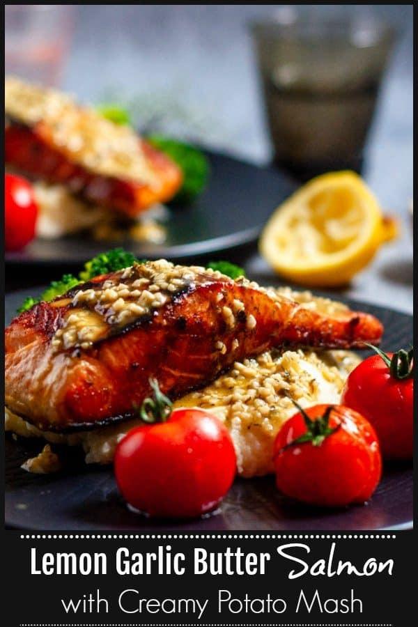 Lemon garlic butter salmon pinterest