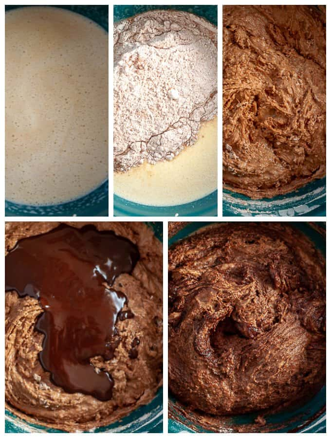 Sugar Free chocolate Cake Ingredients in progress