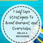 7 self care strategies