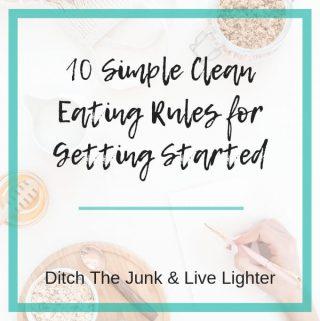 clean eating rules - 1