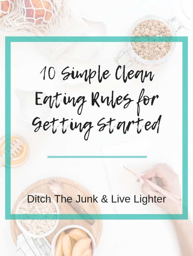 clean eating rules - 1