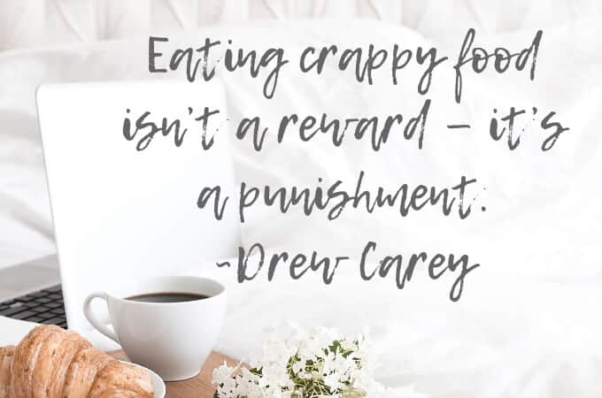 clean eating rules quote