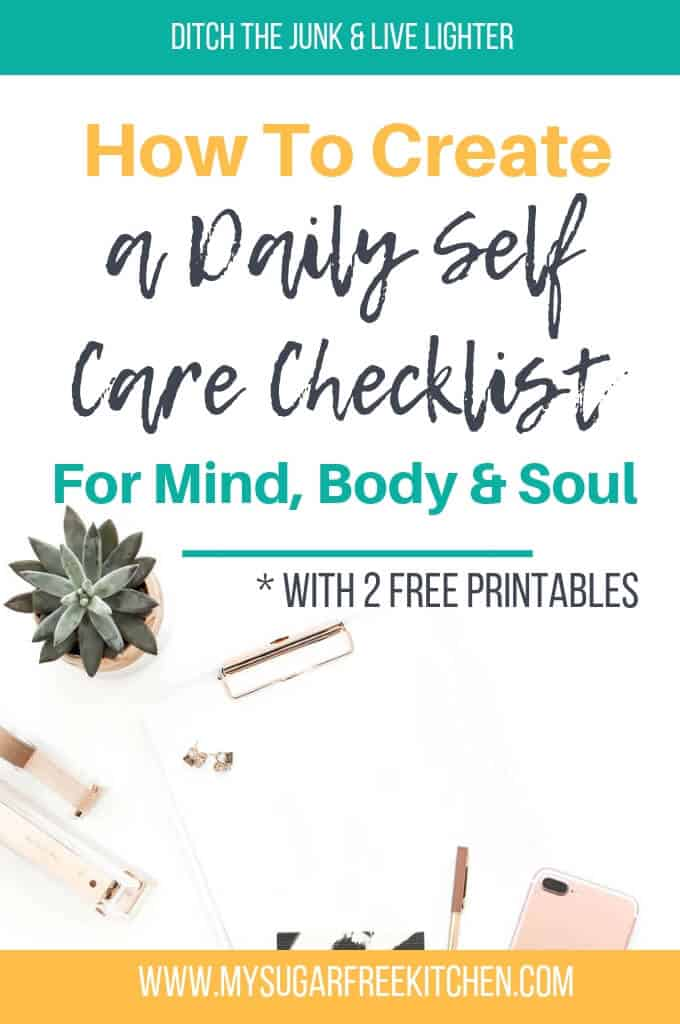 How To Create a Daily Self Care Checklist