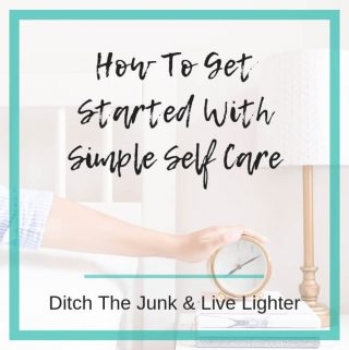 Getting started with self care