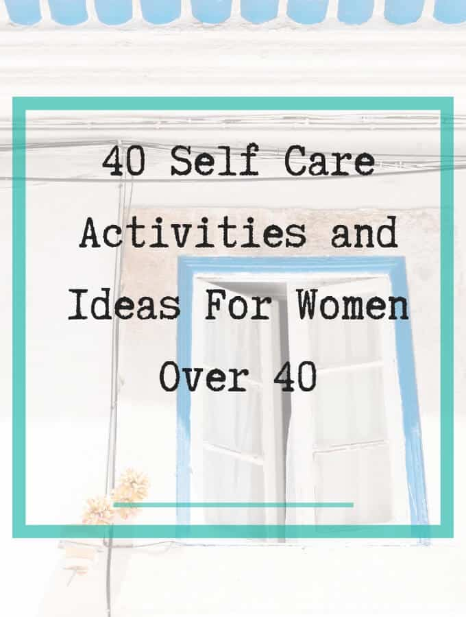 self care for women over 40