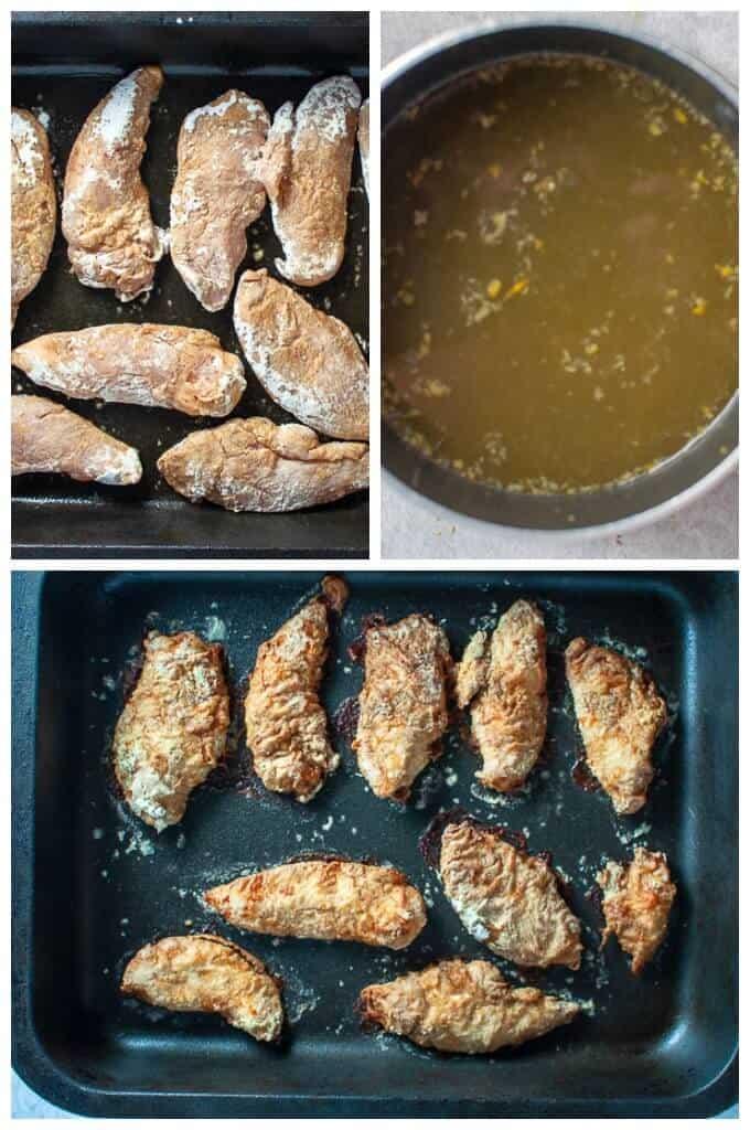 Healthy asian lemon chicken tenders for oven