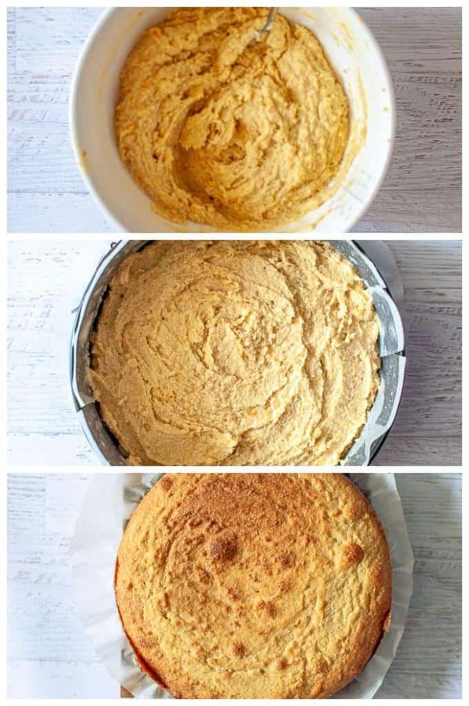 orange polenta cake mix