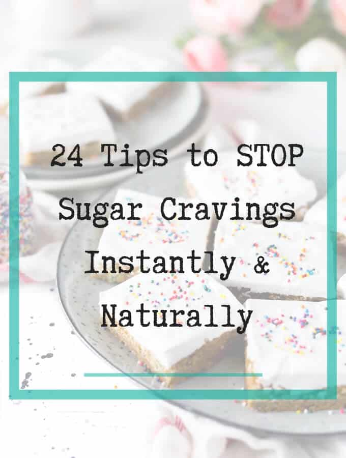 Stop sugar cravings naturally