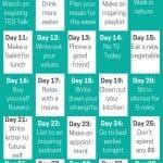 30 day self care challenge pinterest