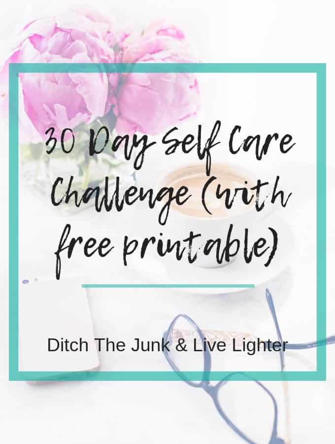 30 day self care challenge - 1