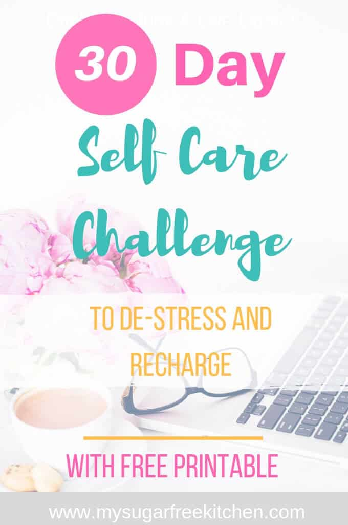 30 day self care challenge - 2