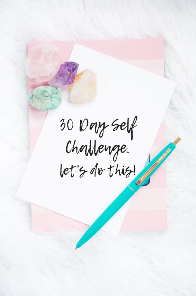30 day self care challenge - 3