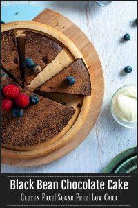 Black Bean Chocolate Cake -pinterest