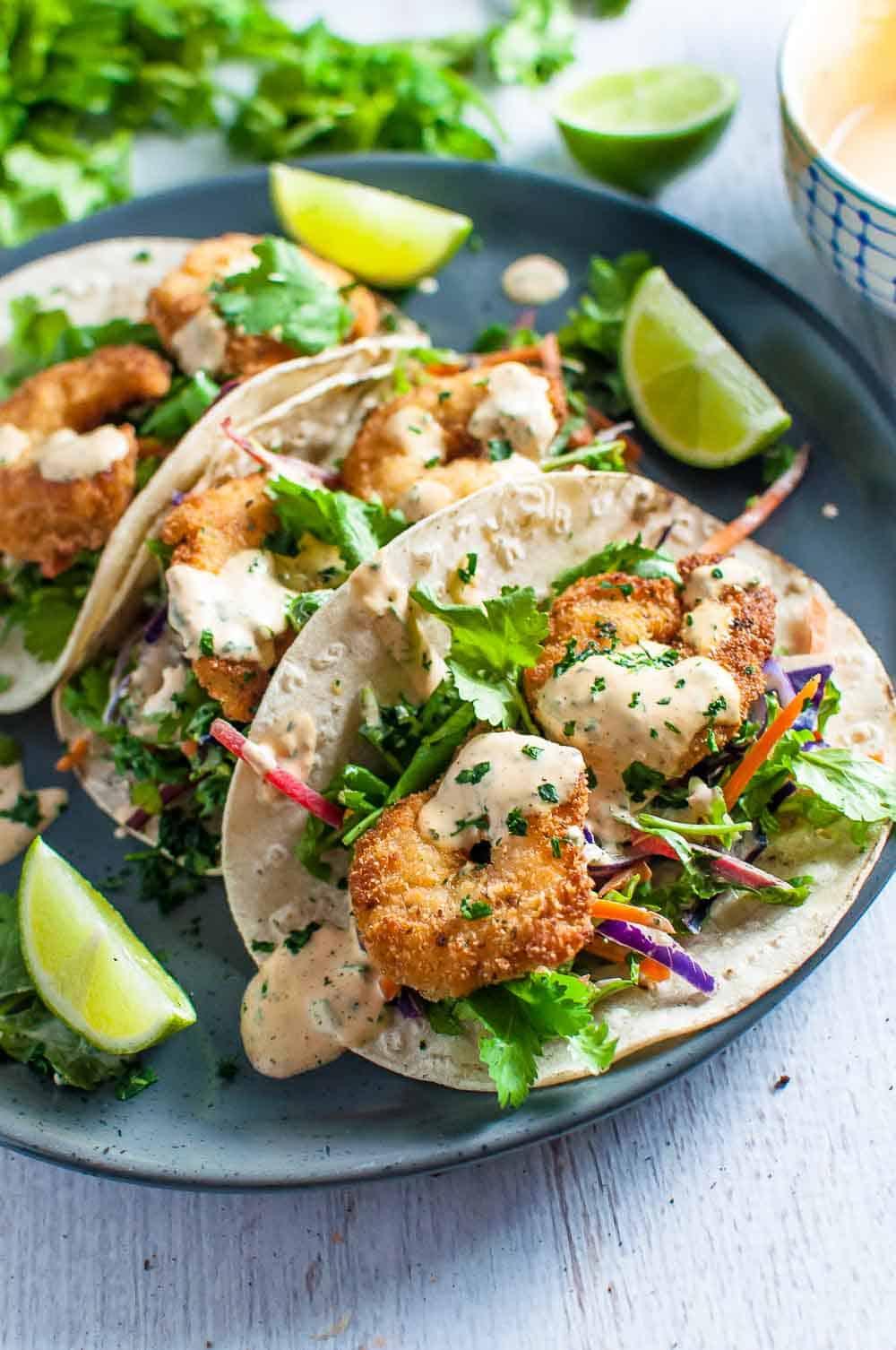 Crispy Fish Tacos-7