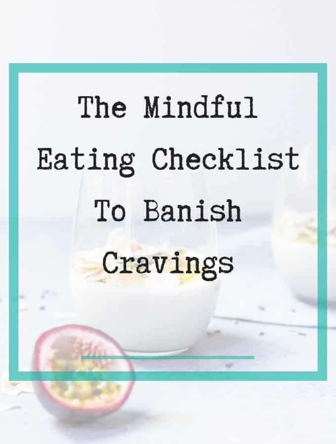 mindful eating checklist